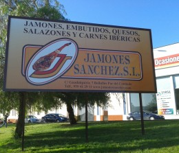 Vallas – Jamones Sánchez