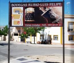 Vallas – Bodegas Rubio – Luís Felipe