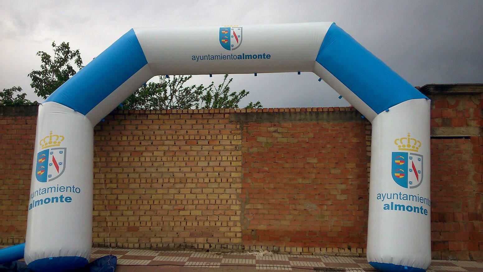 Arcos de meta Almonte