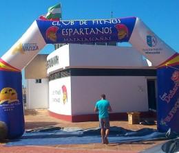 Arcos de meta – Espartanos