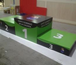 Trabajos especiales – Podium deportivo Santo Domingo de la Calzada