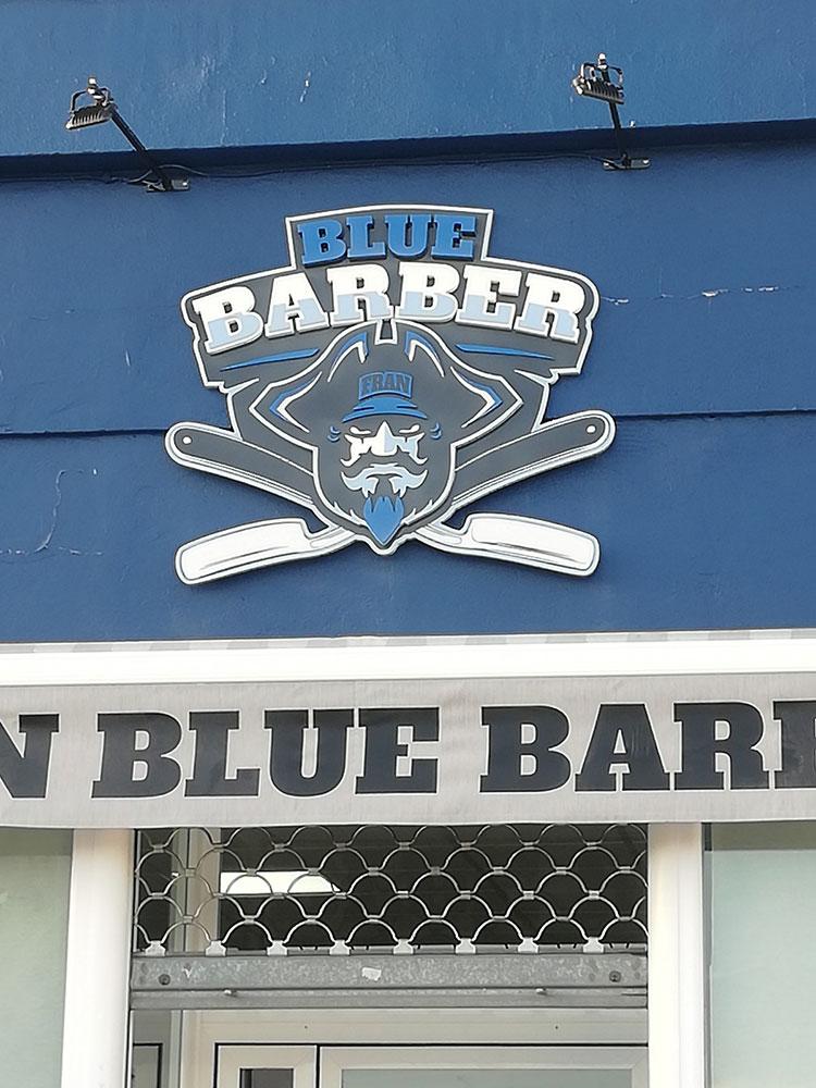 Blue-Barber